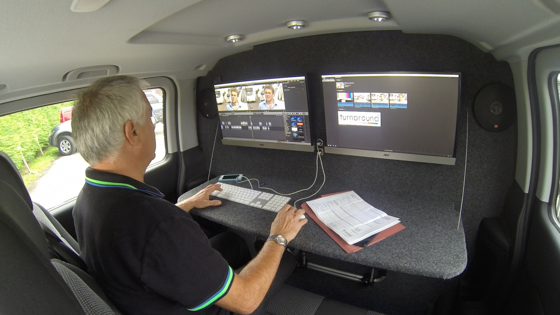 New editing vehicle joins the crew Squareye Television – Video Editor Job Description