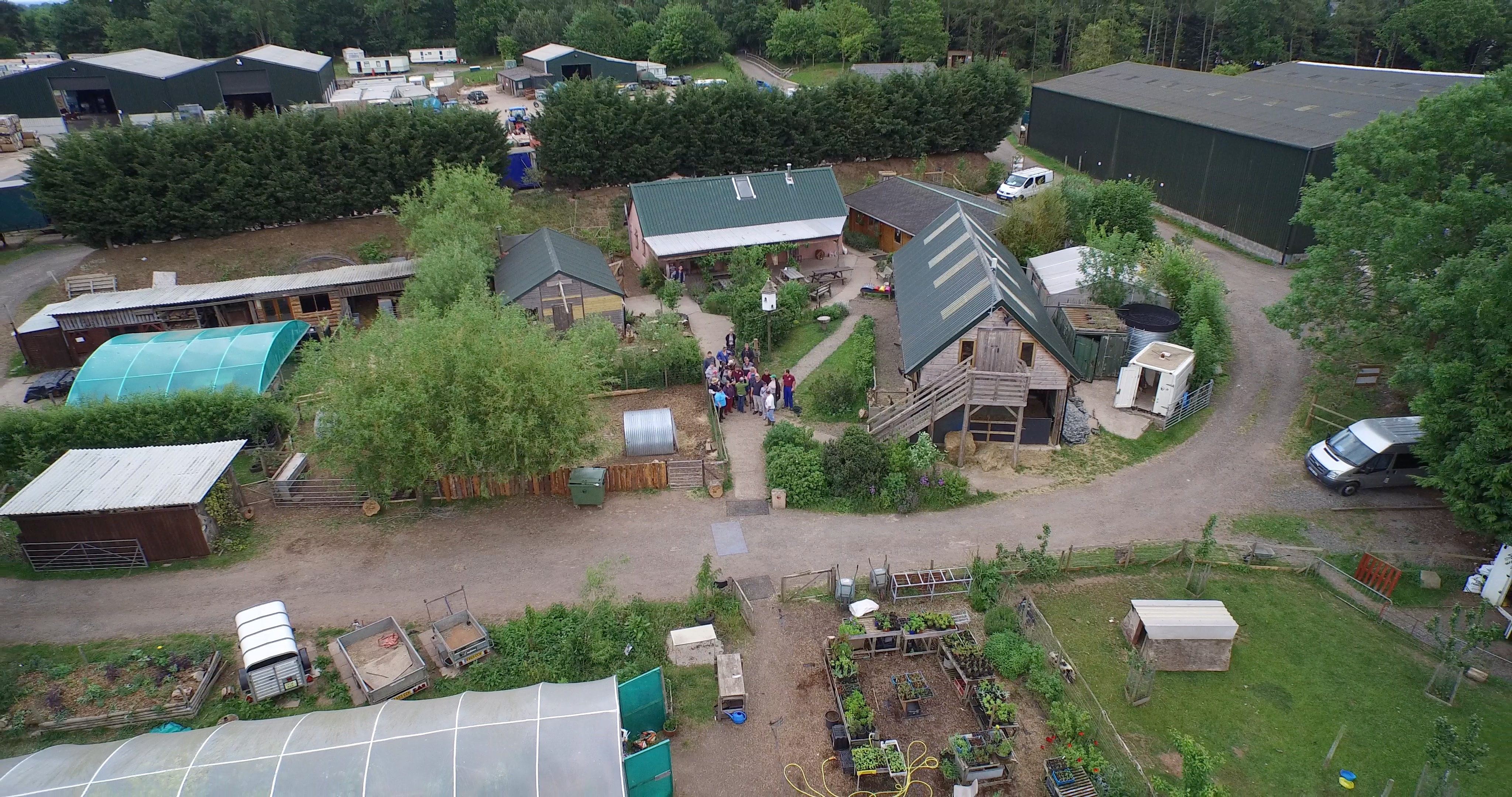 Drone filming in Worcestershire