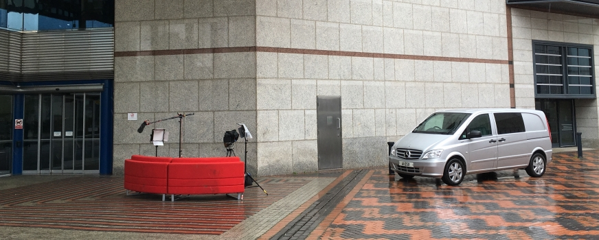 BBC Breakfast Sofa in Birmingham